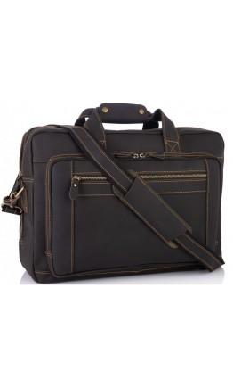 Мужская кожаная сумка для командировок Tiding Bag 7367RA