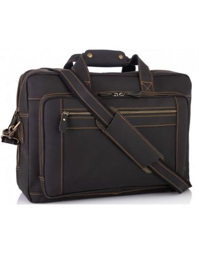 Фотография Мужская кожаная сумка для командировок Tiding Bag 7367RA