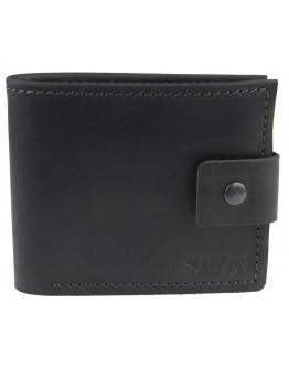 Черный мужской кошелек кожаный 73888P-SKE