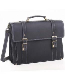 Шикарный мужской портфель синего цвета Manufatto 73-rvm blue crazy