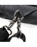 Фотография Удобный чёрный рюкзак на сдвоенной шлейке 74005a