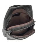 Фотография Черный мужской рюкзак на одну шлейку 74013A