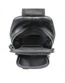 Фотография Мужской черный кожаный слинг 74019A