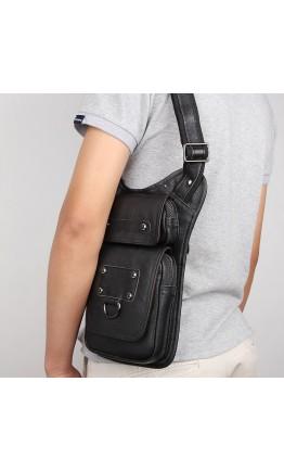 Мужская сумка на плечо из натуральной кожи 74021A