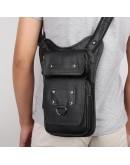 Фотография Мужская сумка на плечо из натуральной кожи 74021A