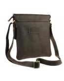 Фотография Коричневая кожаная мужская сумка планшетка 74025-SKE