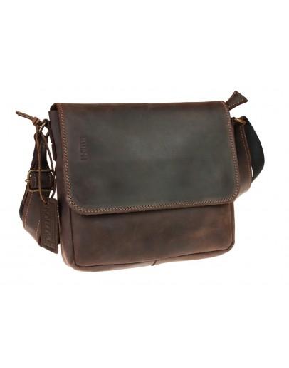 Фотография Коричневая женская кожаная сумка 740251-SKE