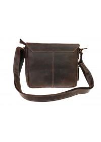 Коричневая женская кожаная сумка 740251-SKE