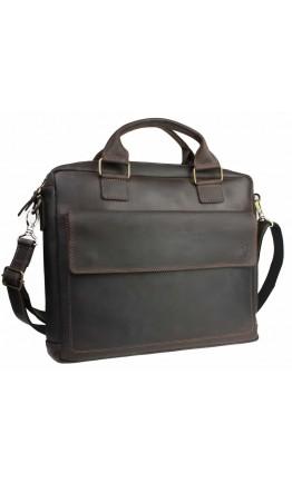 Удобная мужская сумка кожаная для документов 741040D-B-SKE