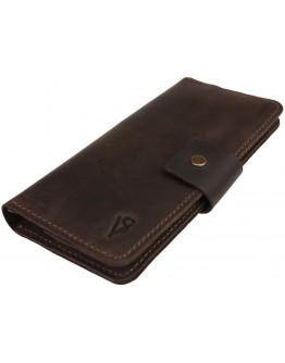 Коричневый кожаный мужской купюрник - портмоне 74110P-SKE