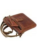 Фотография Кожаная светло-коричневая мужская планшетка 74118-SGE