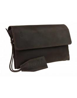 Коричневый удобный мужской кожаный клатч 74332K-B-SKE