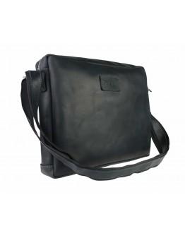Черная мужская кожаная горизонтальная сумка 74340S-2-SKE