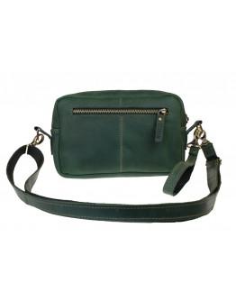 Женская кожаная небольшая сумка 744266-SKE