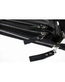 Фотография Кожаная мужская черная сумка через плечо 74433S-SKE