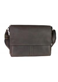 Кожаная мужская большая горизонтальная сумка 7444S-SKE