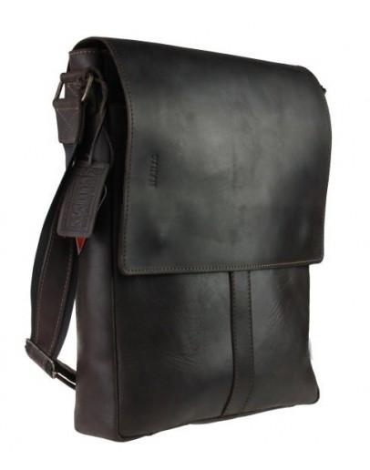 Фотография Кожаная мужская вертикальная сумка формата А4 7446S-SKE