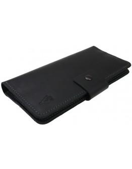 Черное мужское портмоне-купюрник 74510P-SKE