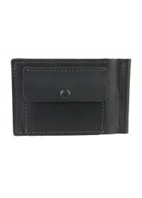 Черный кошелек - зажим для купюр 745Z-SKE