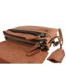 Фотография Светло-коричневый мужской кожаный клатч 74632-SKE