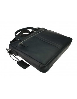 Кожаная мужская горизонтальная сумка для документов 74740D-A-SKE