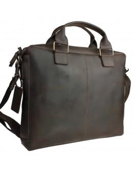 Коричневая кожаная мужская сумка для документов 74840D-B-SKE