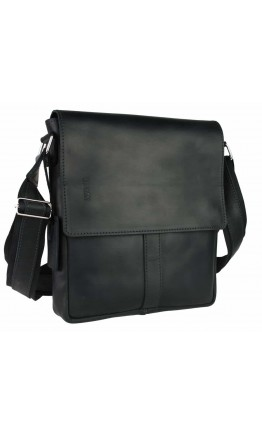 Мужская удобная черная сумка на плечо 749932S-SKE