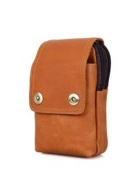 Мужская сумка на песочного цвета 75003B