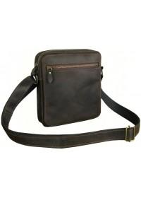 Небольшая городская коричневая сумка через плечо 751118-SGE