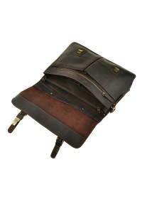 Портфель коричневый мужской из лошадиной кожи 75111t