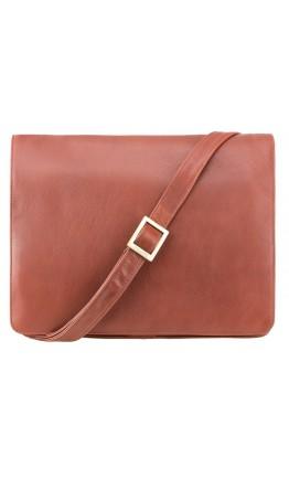 Коричневая большая сумка на плечо Visconti 753 Tess (L) (Brown)