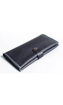 Мужское синее портмоне из винтажной кожи Man 75620-M