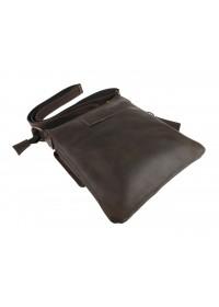 Коричневая кожаная мужская сумка-планшетка 75725-SKE