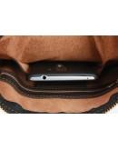 Фотография Коричневая кожаная мужская сумка-планшетка 75725-SKE