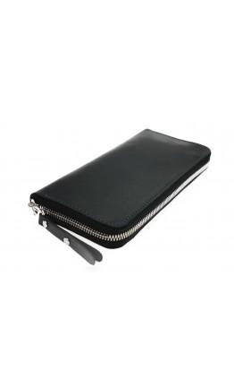 Черный мужской клатч кожаный 7573195-SKE