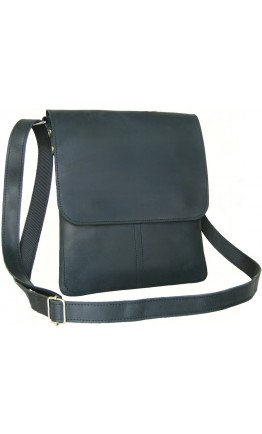 Черная кожаная мужская сумка-планшетка 757788-SGE