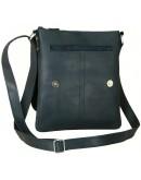 Фотография Черная кожаная мужская сумка-планшетка 757788-SGE
