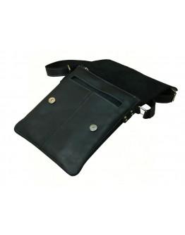 Черная мужская кожаная сумка планшетка 757790-SGE