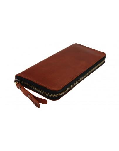 Фотография Светло-коричневый мужской клатч кожаный 7583195-SKE