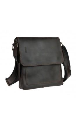 Коричневая мужская сумка на плечо с клапаном 75932-SKE