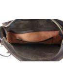 Фотография Коричневая мужская сумка на плечо с клапаном 75932-SKE