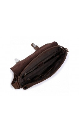 Винтажная и стильная мужская сумка на плечо 76002B-1