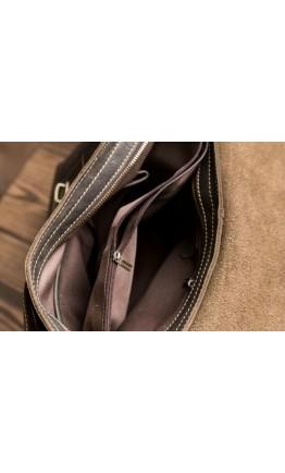 Мужская сумка из прочной воловьей кожи 76002br-1