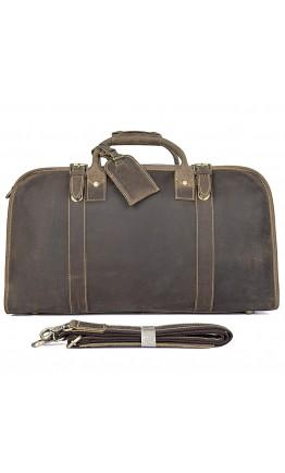 Дорожная сумка мужская из плотной конской кожи 76004R