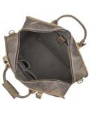 Фотография Дорожная сумка мужская из плотной конской кожи 76004R