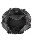 Фотография Кожаная черная мужская сумка для командировок 76007A