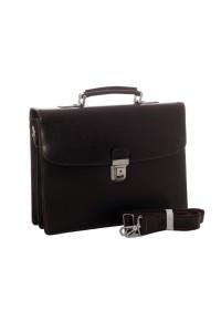 Коричневый мужской классический портфель Katana k763041-2