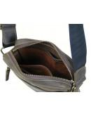 Фотография Мужская сумка из натуральной кожи коричневая 766001-SGE