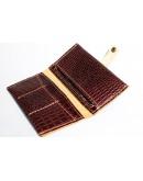 Фотография Мужское коричневое портмоне с тиснением Man 76610-M