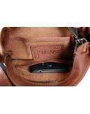 Фотография Светло-коричневая кожаная мужская сумка на плечо 76625-ske
